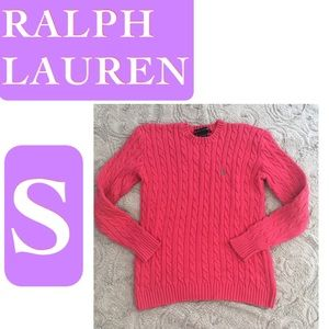 🌿Classic Ralph Lauren Cable Knit Sweater